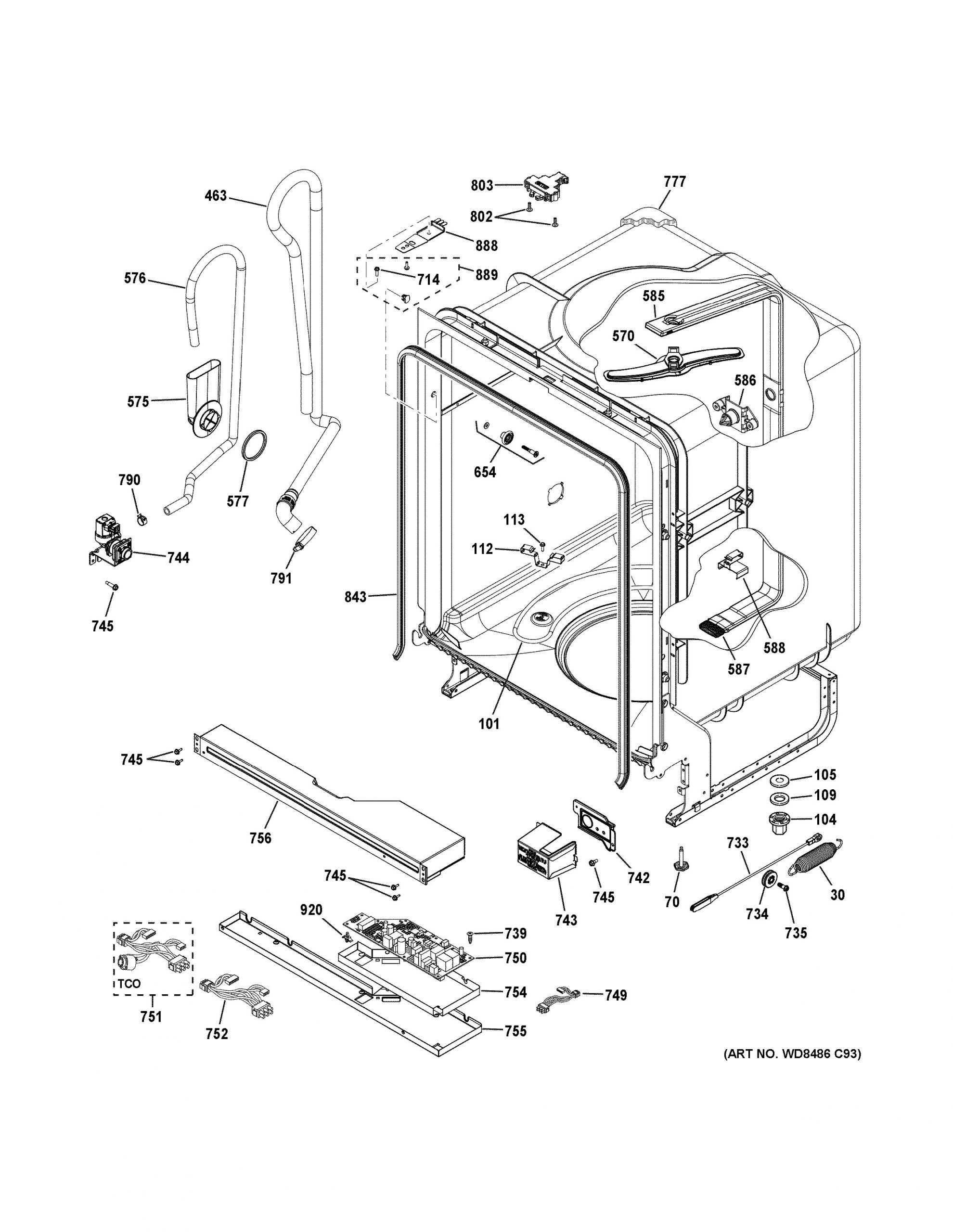 Asko Dishwasher Dbi675 Parts Diagram 35 asko Dishwasher Parts Diagram Wiring Diagram Database Of Asko Dishwasher Dbi675 Parts Diagram