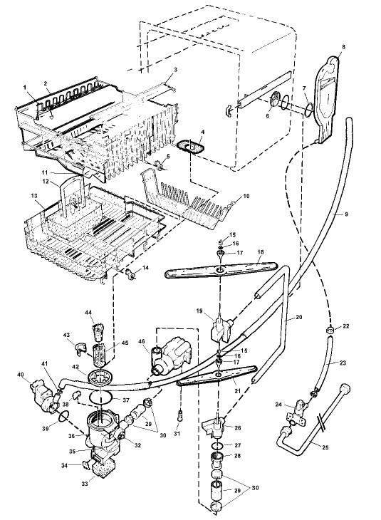 Asko Dishwasher Dbi675 Parts Diagram asko 954 Dishwasher Parts Of Asko Dishwasher Dbi675 Parts Diagram