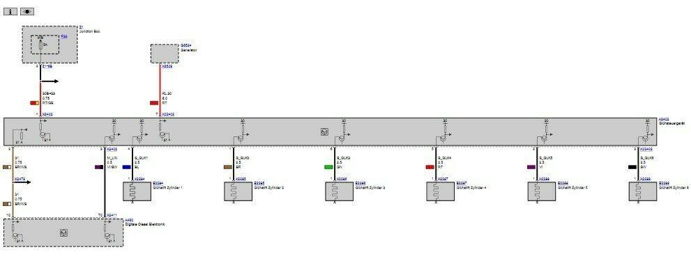 Bmw F11 Schaltplan Schaltplan Gluehsteuerung 525d F11 Motor Springt Bei Kaltstart Schlecht An Und Ruckelt Of Bmw F11 Schaltplan
