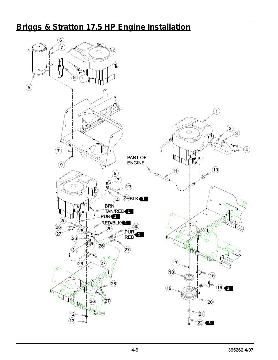 Briggs 17.5 Hp Engine Manual Briggs & Stratton 17 5 Hp Engine Installation Briggs & Stratton 17 5 Hp Engine Installation 6 Of Briggs 17.5 Hp Engine Manual