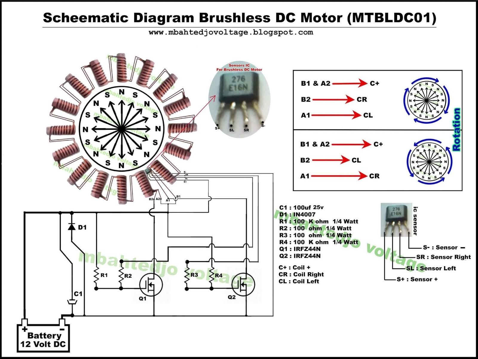 Brushless Dc Motor 12v Diagrama Mbahtedjo Voltage Detail Tutorials How to Make Brushless Dc Motor at Home Of Brushless Dc Motor 12v Diagrama