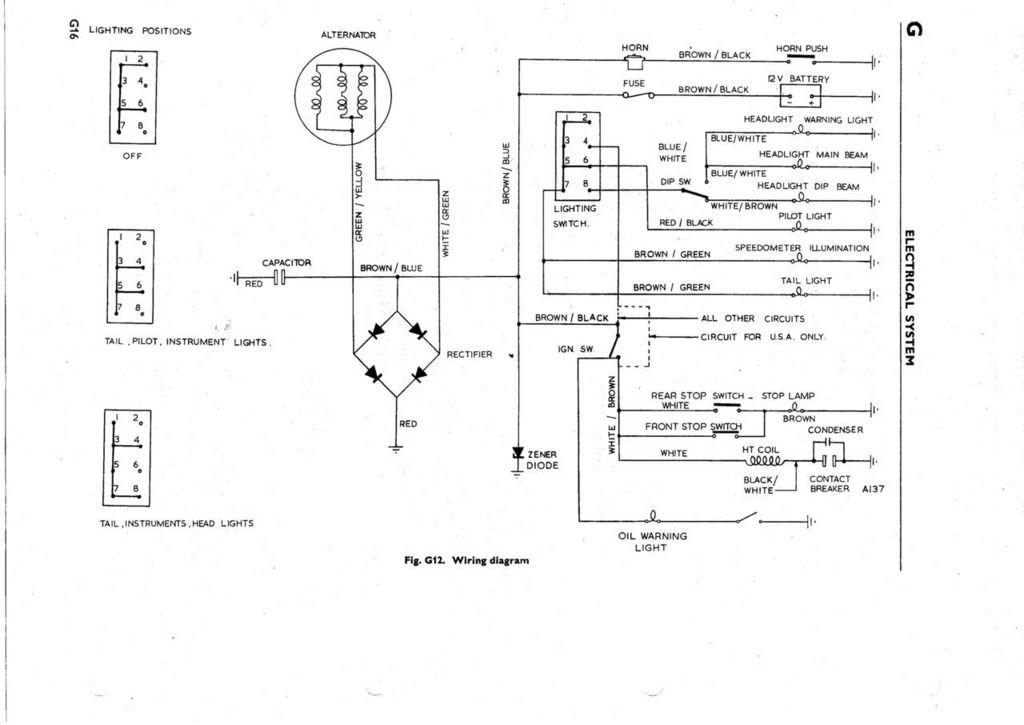 Bsa C15 Wiring Diagram Free Download 1968 Bsa Lightning Wiring Diagram Of Bsa C15 Wiring Diagram Free Download