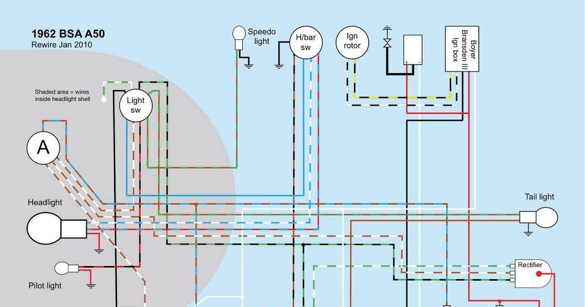 Bsa C15 Wiring Diagram Free Download Old Bike Hack Bsa A50 A65 Wiring Diagram Of Bsa C15 Wiring Diagram Free Download