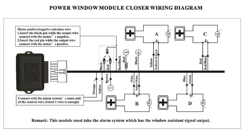 Car Window Closer Circuit Car Security Power Window Closer Cf E04w for 4 Windows Roll Up Closer Module Automatically Of Car Window Closer Circuit