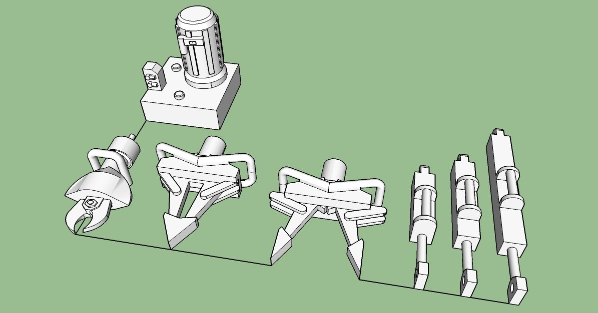 Components Of Building A Jaws Of Life Nirvana Valley Model Railroad Jaws Of Life 3d Printed In Ho Scale Of Components Of Building A Jaws Of Life