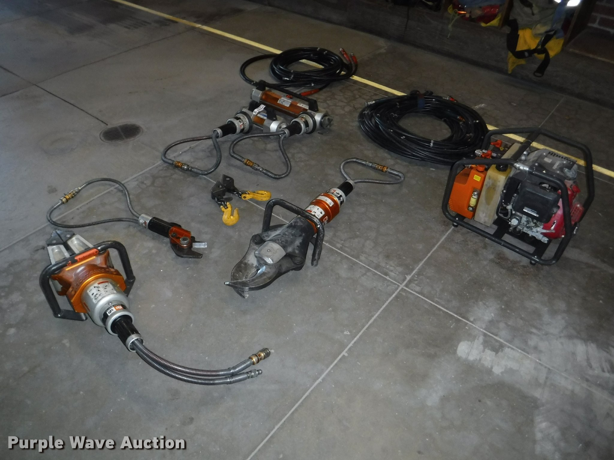 Construction Of the Jaws Of Life Holmatro Jaws Of Life Rescue System In Emporia Ks Item Dj9229 sold Of Construction Of the Jaws Of Life