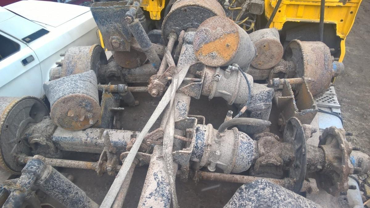 оси смб барабанные тормоза Оси Bpw 1999 года барабанные тормоза Hsf9010 Eco M — Разборка52 Of оси смб барабанные тормоза