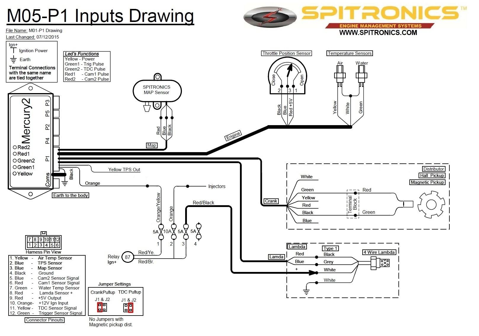 Daiogram Of Spitronic Pluto 2 Wireing Upgrading A 280z Efi to Spitronics Mercury 2 Ecu Page 2 Fuel Injection the Classic Zcar Club Of Daiogram Of Spitronic Pluto 2 Wireing