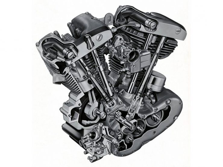 Diagram Of 1980 Bottom End Of Engine Harley Davidson Harley Davidson Big Twins – the Shovelhead Of Diagram Of 1980 Bottom End Of Engine Harley Davidson