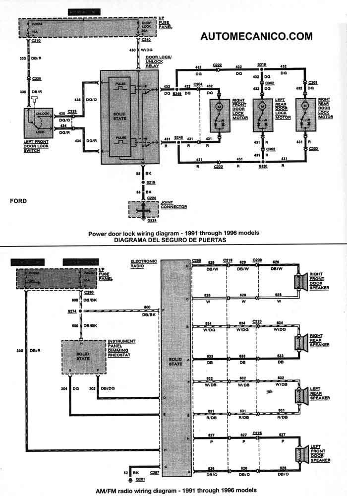 Diagrama De Inyeccion ford Fieta Zetec Sistema Electrico ford Escort Ghia Of Diagrama De Inyeccion ford Fieta Zetec