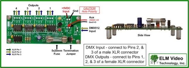 Ds4 Wiring Diagram Dmx Splitter Pcb 1×4 Of Ds4 Wiring Diagram
