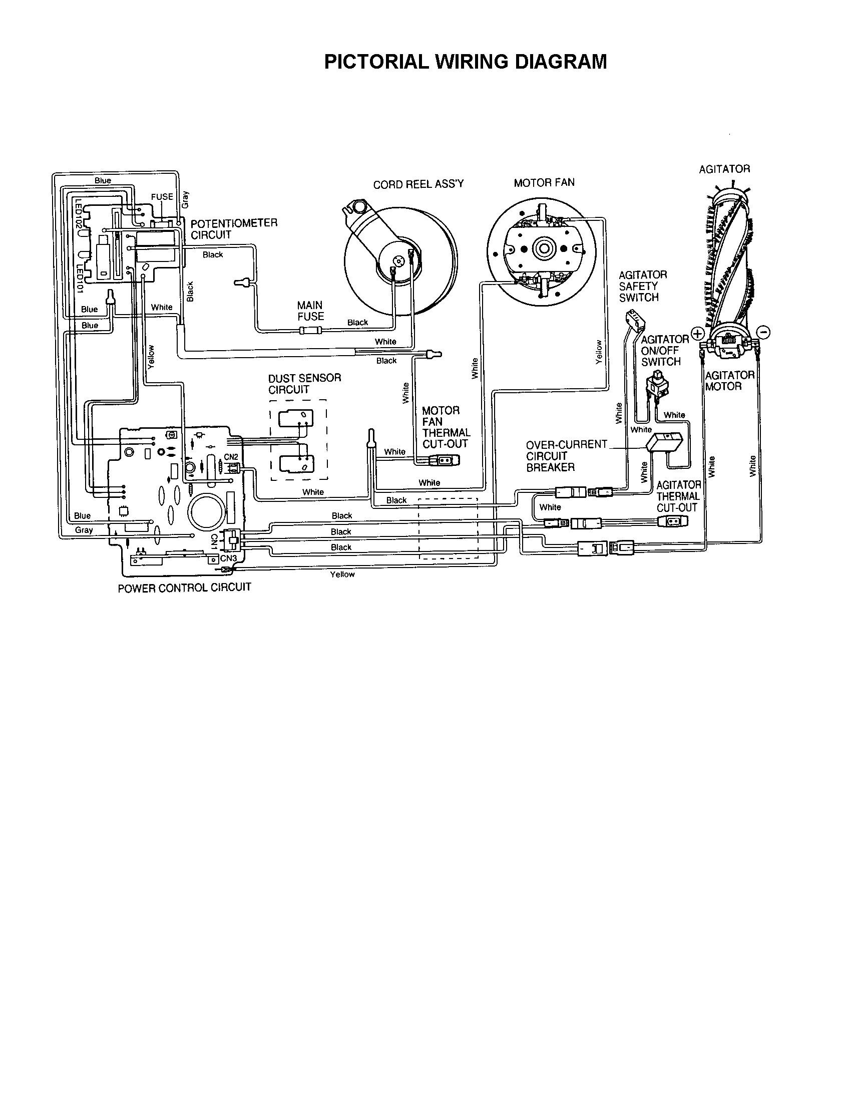 Electrolux 2100 Switch assembly Electrolux 2100 Parts Diagram Hanenhuusholli Of Electrolux 2100 Switch assembly
