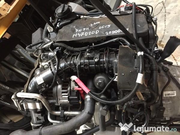 Engine Biturbo N47 Motor N47d20d 2 0 Sel Biturbo Bmw F10 F11 2015 2 500 Eur Lajumate Of Engine Biturbo N47
