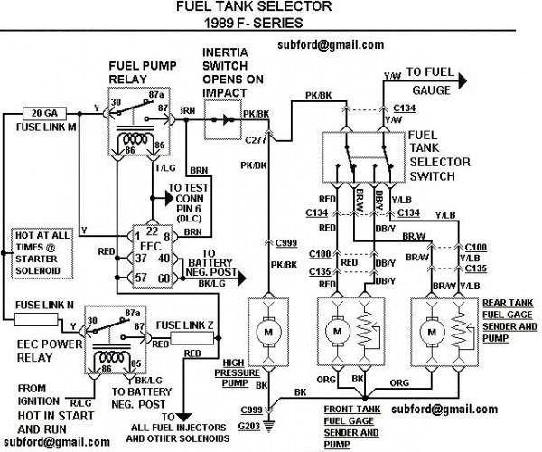 Ford 2000 F150 Fuel Pump Wiring Diagram 2000 F150 Fuel Pump