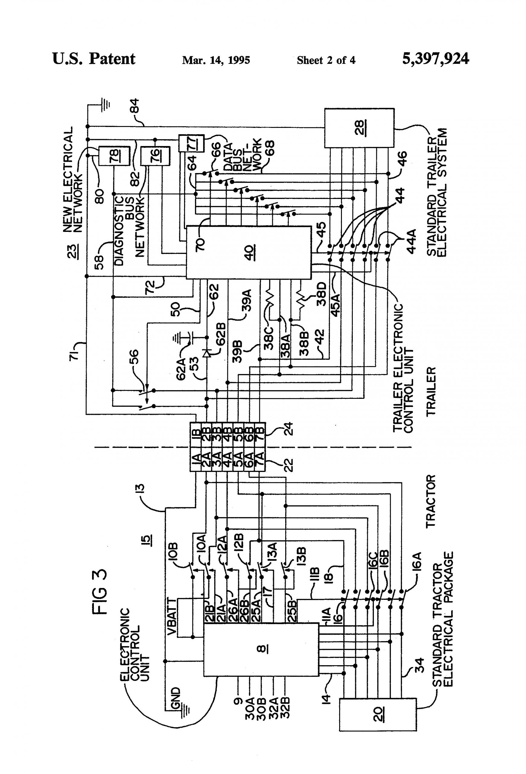Freightliner Brake Parts Breakdown Freightliner Wabco Abs Brake Module Wiring Diagram