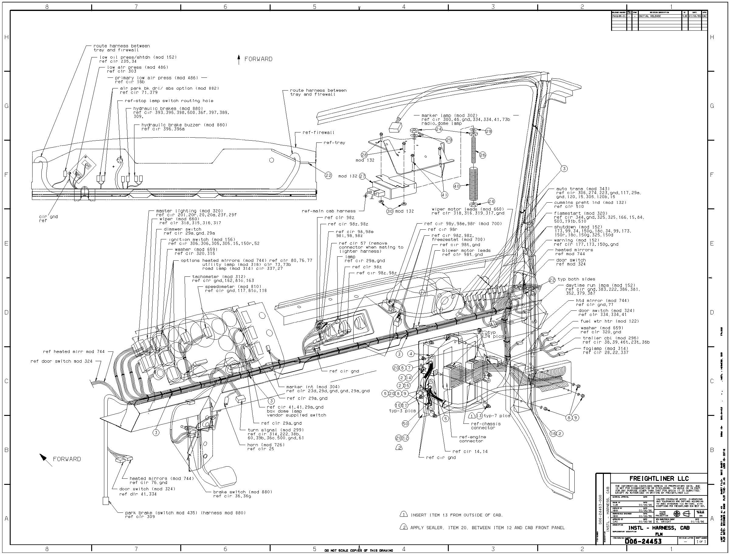 Frieghtliner Argosy Air Schematic I Have 2003 Fl70 Freightliner and I Need A Wiring Diagram for the Instrument Cluster and the Of Frieghtliner Argosy Air Schematic