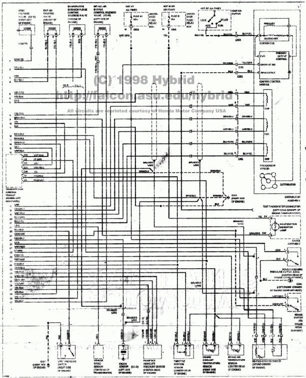 Honda Civic Engine Wiring Diagram 12 99 Honda Civic Engine Wiring Diagram Of Honda Civic Engine Wiring Diagram