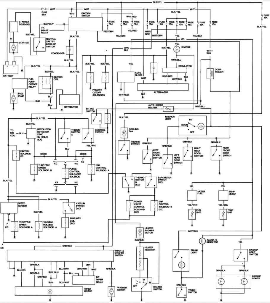 Honda Civic Engine Wiring Diagram 1981 Honda Civic Engine Wiring Diagram Freeautomechanic Advice