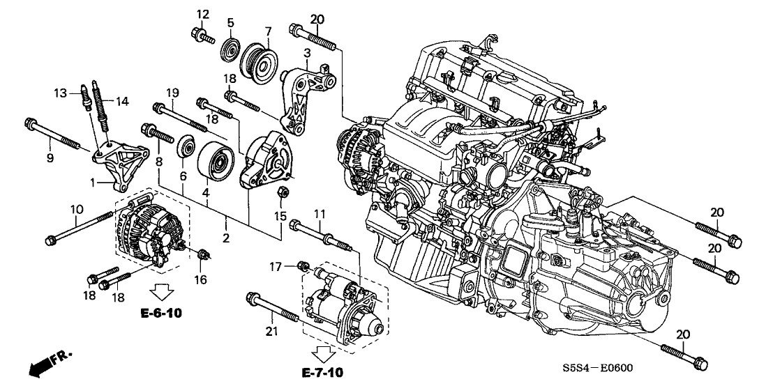 Honda Civic Engine Wiring Diagram Honda Civic Engine Parts Diagram Of Honda Civic Engine Wiring Diagram