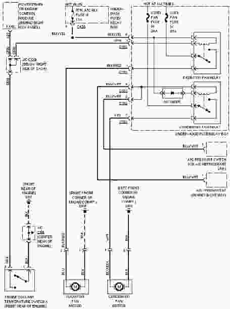 Honda Civic Mk7 Wiring 1997 Honda Civic System Wiring Diagrams Cooling Fan Circuit Wiring Diagram Service Manual Pdf Of Honda Civic Mk7 Wiring