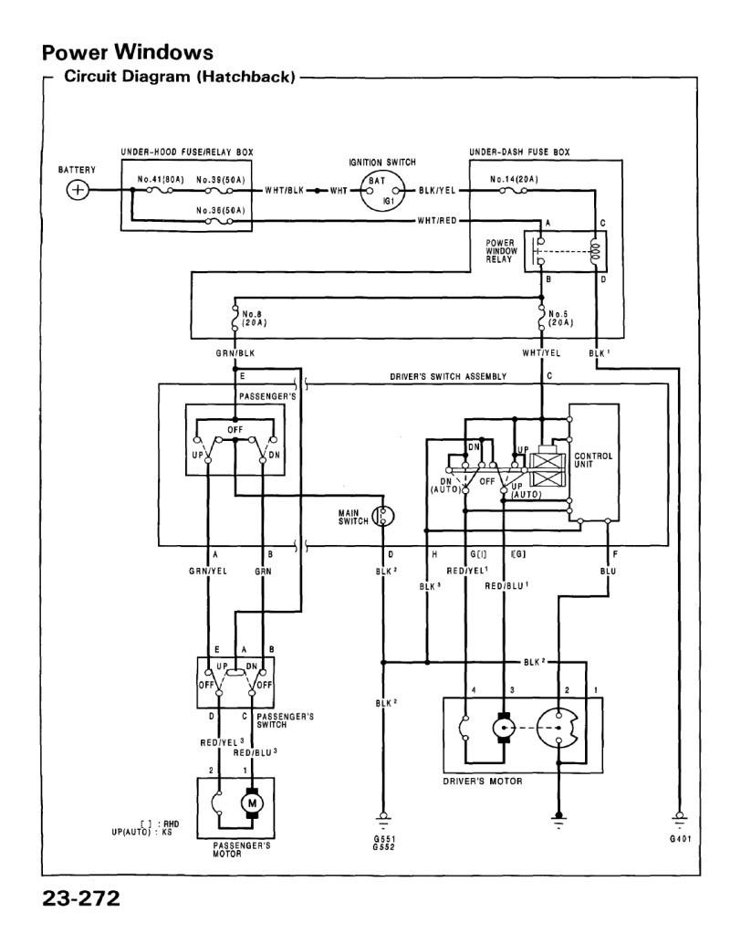 Honda Civic Mk7 Wiring Power Window Wiring Diagram Honda Civic Of Honda Civic Mk7 Wiring
