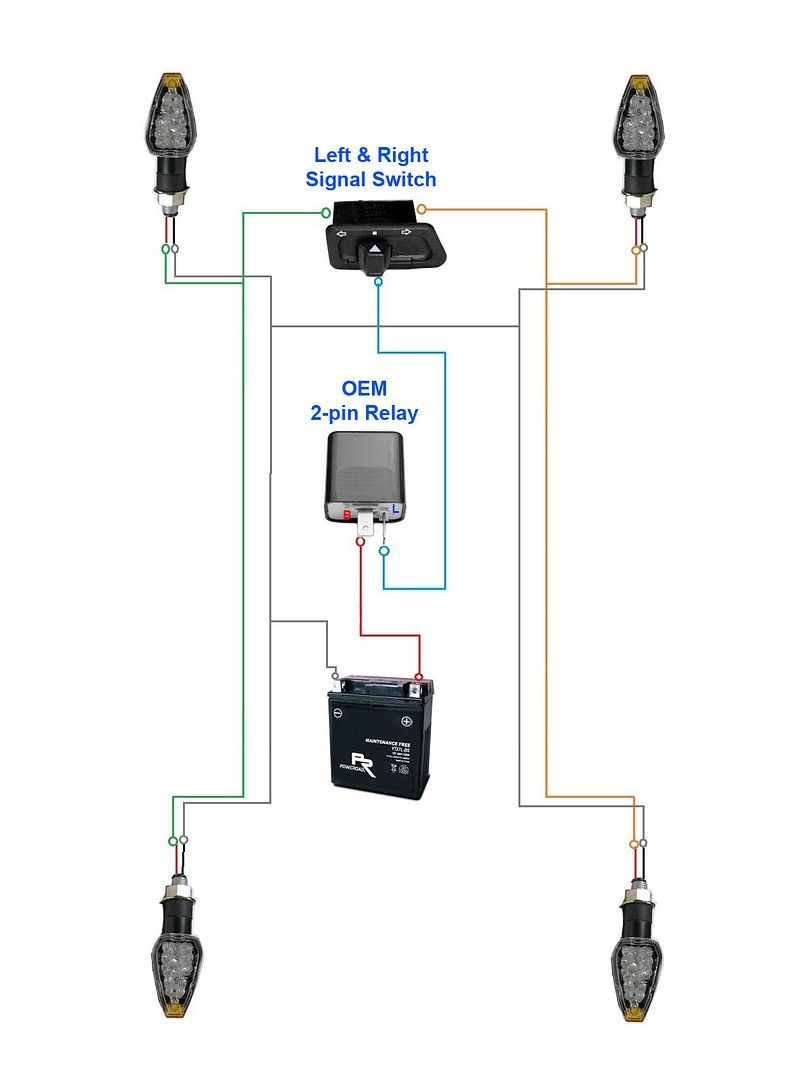 How 2 Pin Flasher Relay Work Electronic Flasher Relay Cf13 001 2all Er Of How 2 Pin Flasher Relay Work