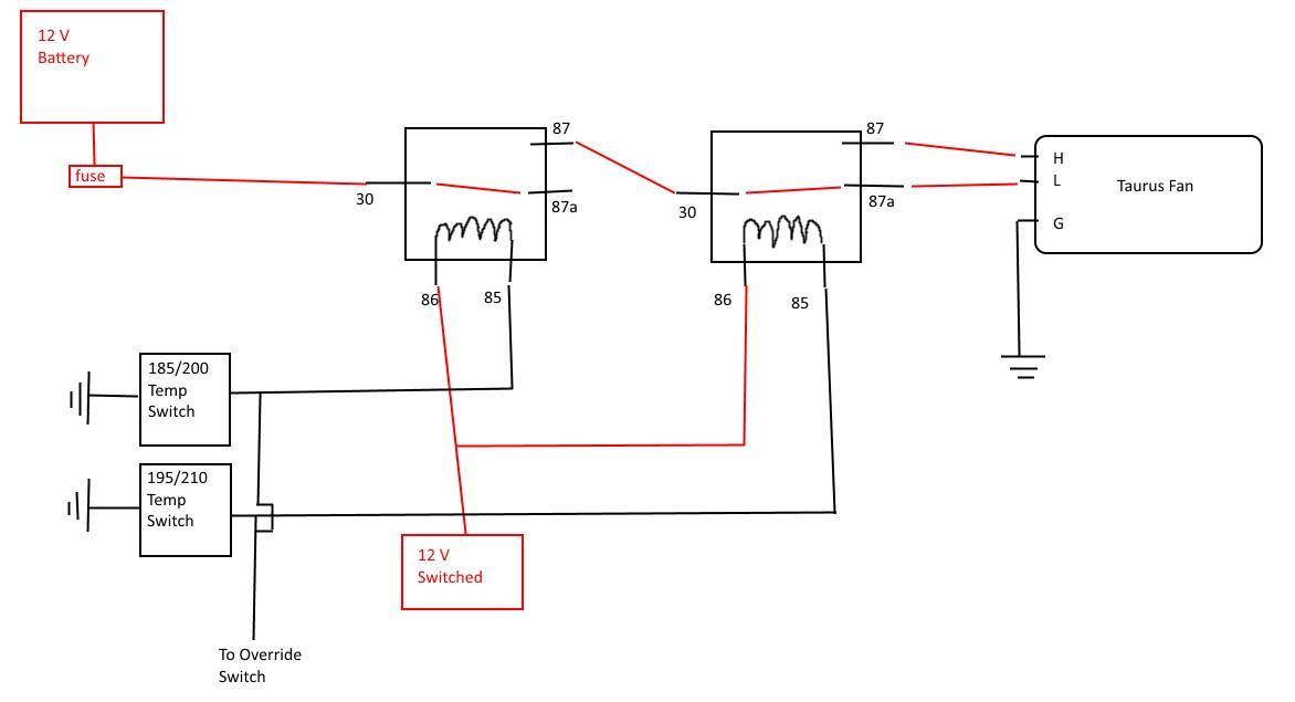 How to Wire A 2 Speed Fan 2 Speed Fan Wiring Of How to Wire A 2 Speed Fan