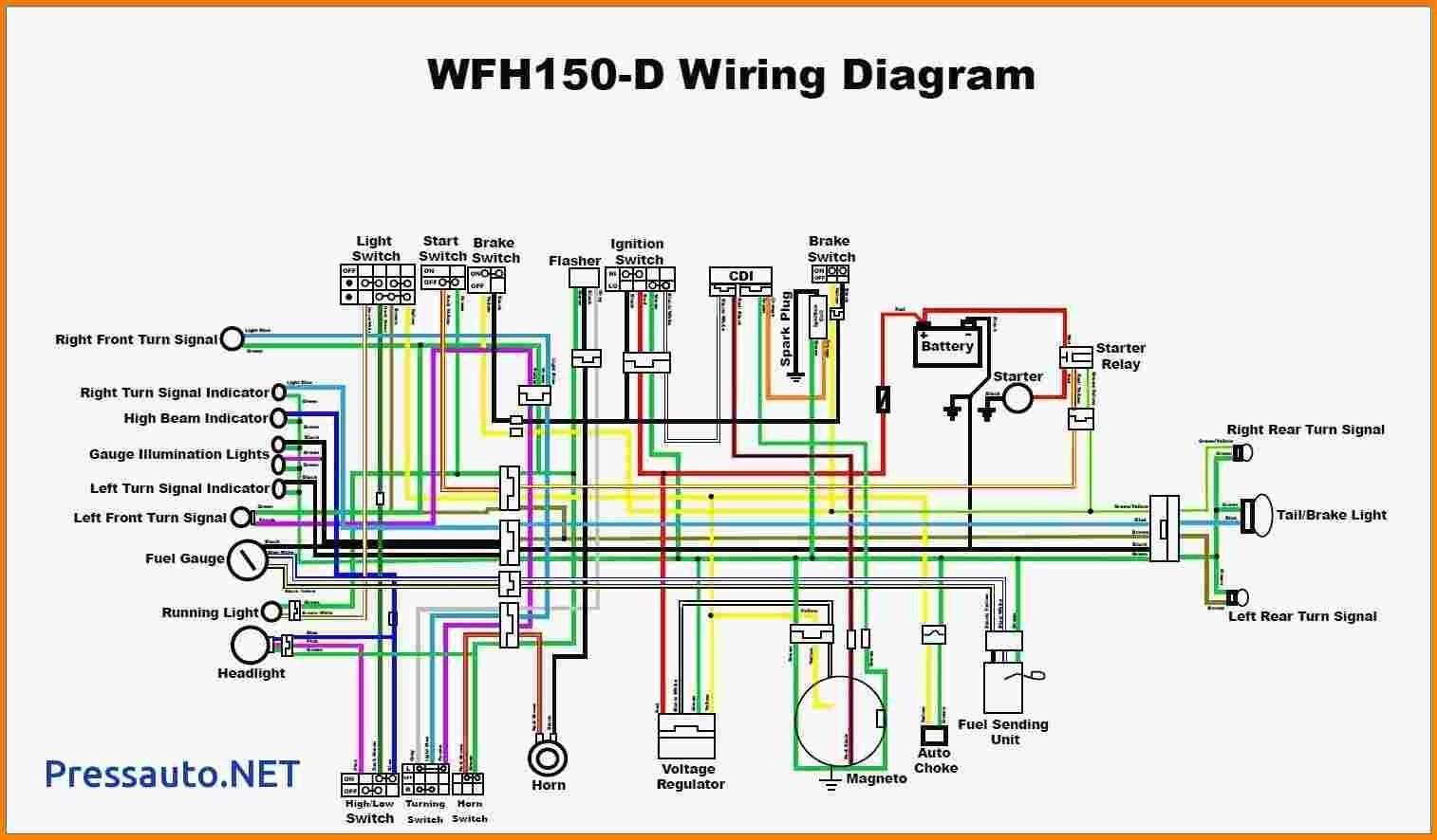 How to Wire Chinese atv Chinese atv Wiring Diagram 110 Of How to Wire Chinese atv