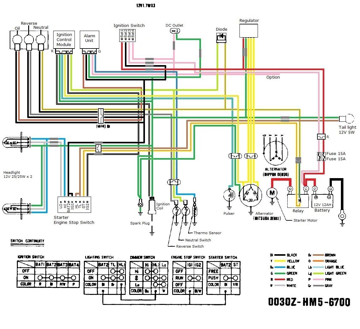 How to Wire Chinese atv Chinese atv Wiring Schematic 110cc Of How to Wire Chinese atv