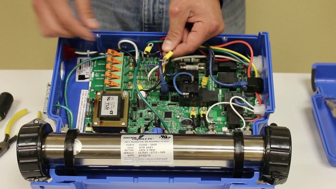 How to Wire Neo Hot Tub Waterway Neo 2100 & Neo 1500 Spa Pack 220v to 110v Conversion Installation Of How to Wire Neo Hot Tub