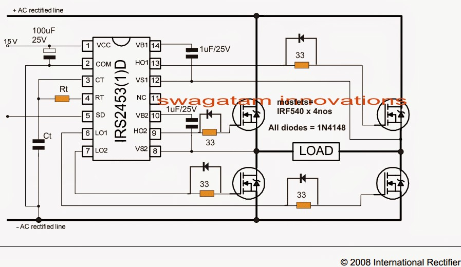 Ic 6110 Schema How to Convert 3 Phase Ac to Single Phase Ac Of Ic 6110 Schema