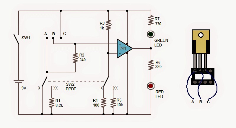 Ic 6110 Schema Lm317 Ic Tester Circuit sort Out Good Ics From Faulty Es Of Ic 6110 Schema