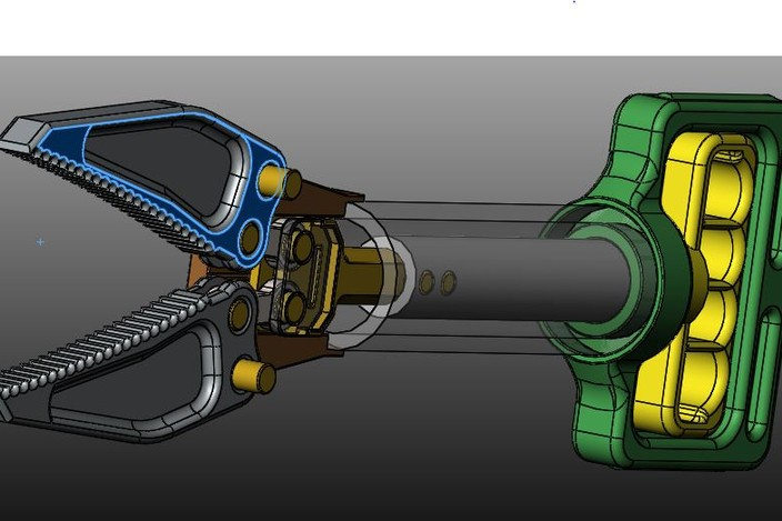 Jaws Of Life Model Jaws Of Life Gripper solidworks 3d Cad Model Grabcad Of Jaws Of Life Model