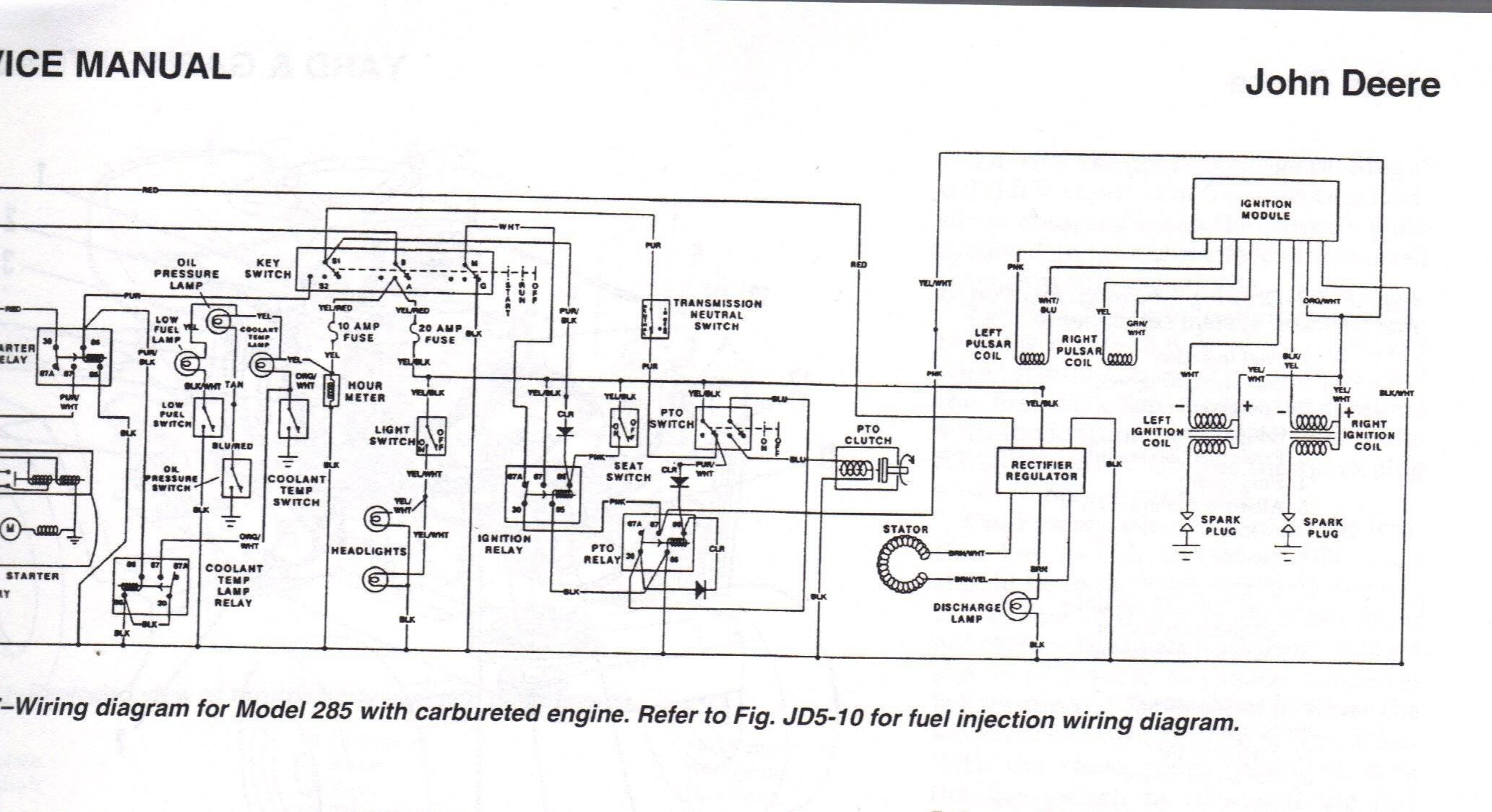 John Deere D140 Electrical Schematic John Deere D140 Wiring Diagram Of John Deere D140 Electrical Schematic