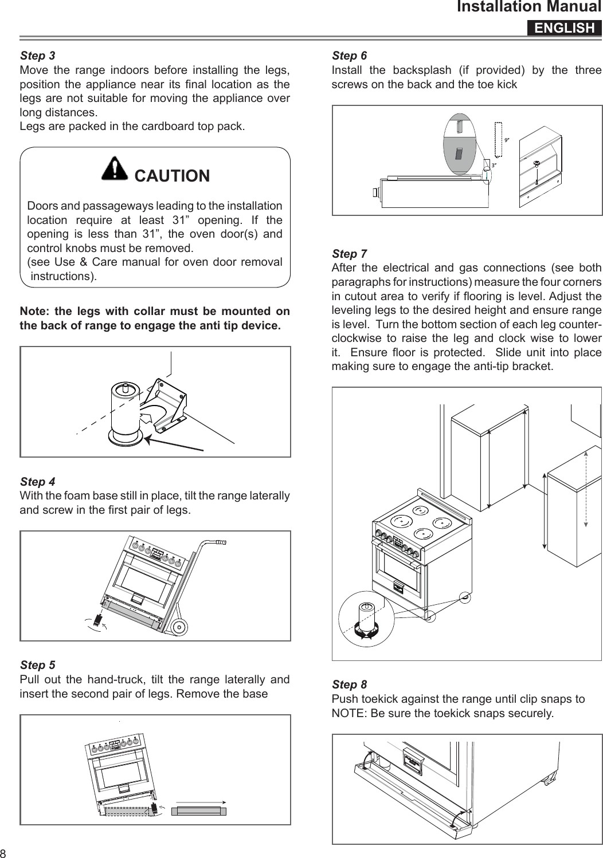 Kib M2401 Installation Manual Meneghetti Ruei Induction Cooking Range with Oven User Manual Installation Manual Of Kib M2401 Installation Manual