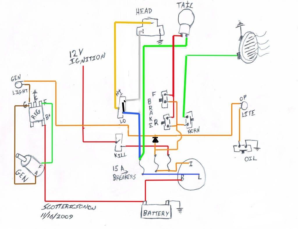 M-unit Harley Shovelhead Wire Diagram Simplied Shovelhead Wiring Diagram Needed Of M-unit Harley Shovelhead Wire Diagram
