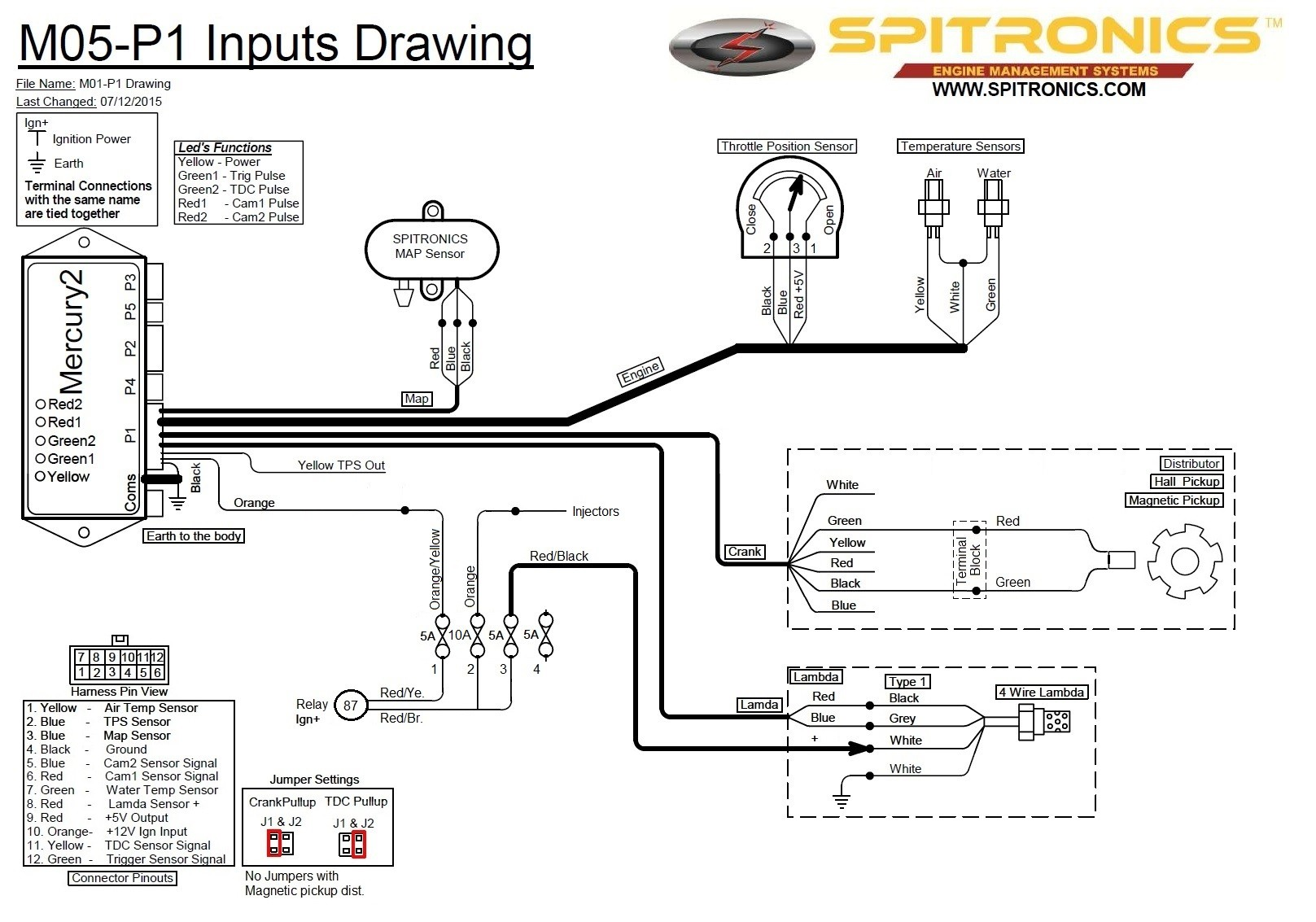 Spitronics orion 2 Wiring Diagram Upgrading A 280z Efi to Spitronics Mercury 2 Ecu Page 2 Fuel Injection the Classic Zcar Club Of Spitronics orion 2 Wiring Diagram