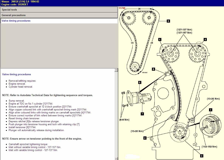 Sr20 Engine Diagram Cam Timing for Nissan Sr20 Vvl Of Sr20 Engine Diagram