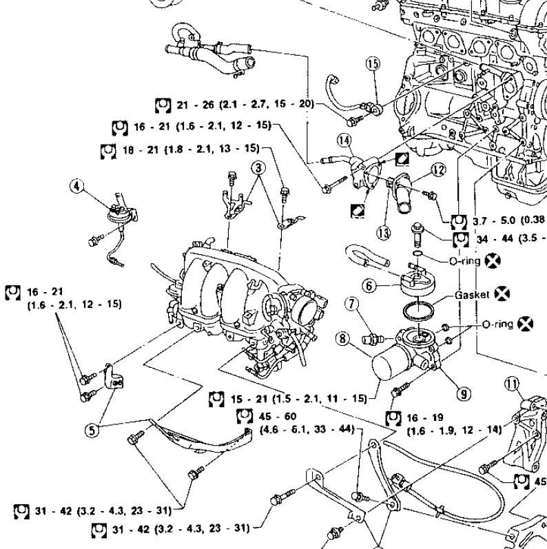 Sr20 Engine Diagram Nissan Sr20 Exploded Diagram Of Sr20 Engine Diagram