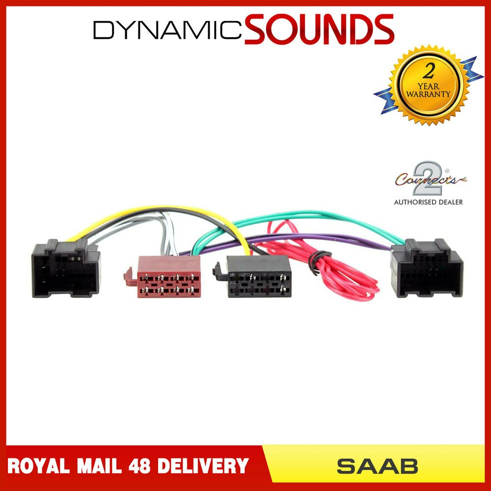Stereo Wiring Harness 2007 Saab 93 Ct20sa03 iso Lead Stereo Head Unit Adaptor Wiring Harness for Saab 9 3 9 5 Of Stereo Wiring Harness 2007 Saab 93