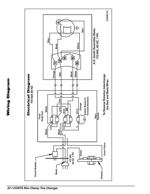 Tire Changer Schematic Wiring Wiring Diagram 22 • Coa Of Tire Changer Schematic Wiring