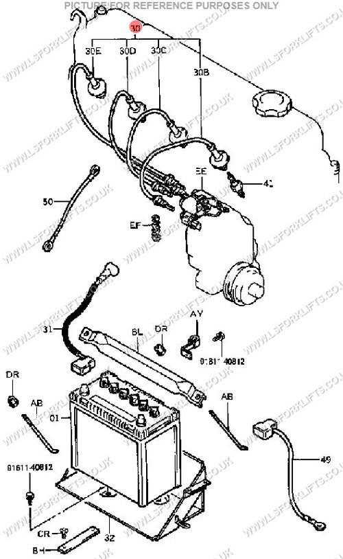 Toyota 1987 forklift 4y 12volt Distributor Curcuit toyotum forklift Starter Wiring 7fg25 Plete Wiring Schemas Of Toyota 1987 forklift 4y 12volt Distributor Curcuit