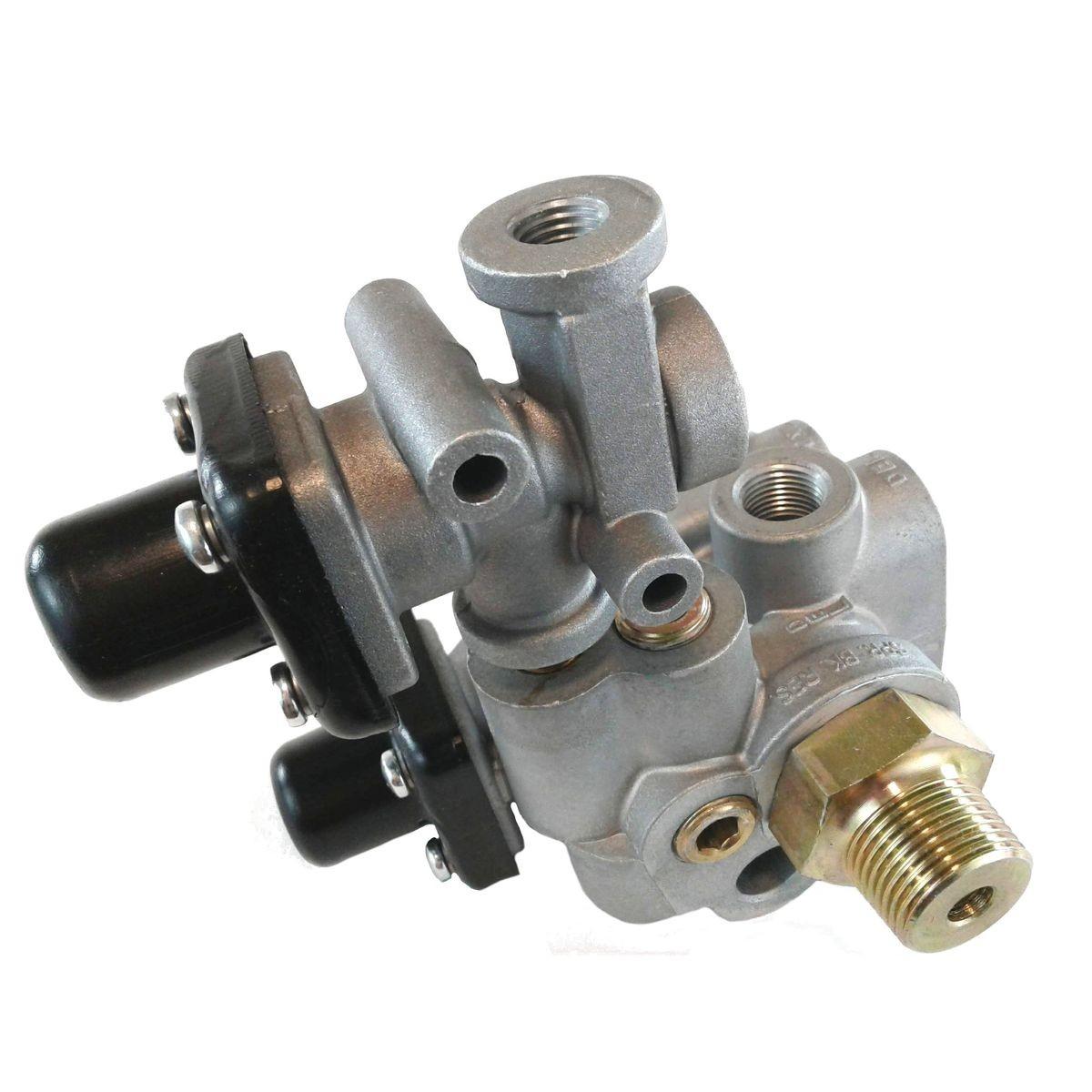 U.s. Auto Parts Air Brake System Sr 4 Trailer Spring Air Brake Parking Emergency System Valve 3 4 Of U.s. Auto Parts Air Brake System