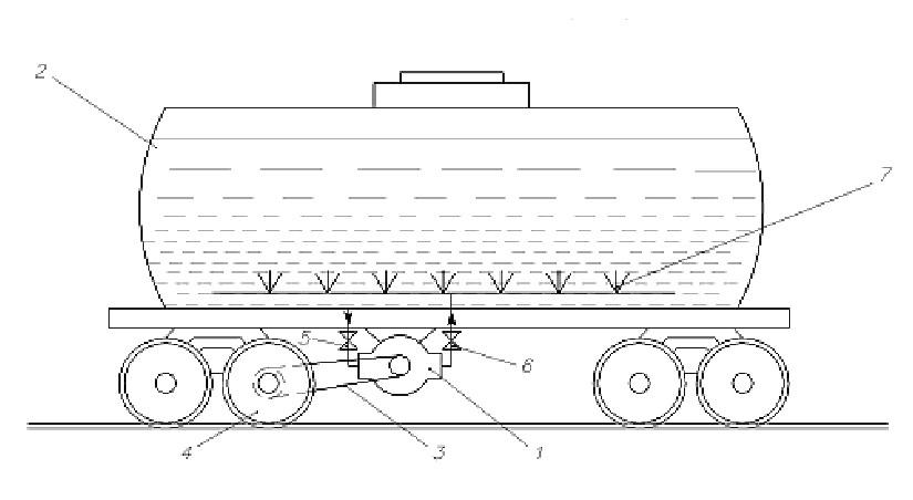Underneath Car Layout Undercar Hydrodynamic Brakes Layout Drawing 1 Undercar