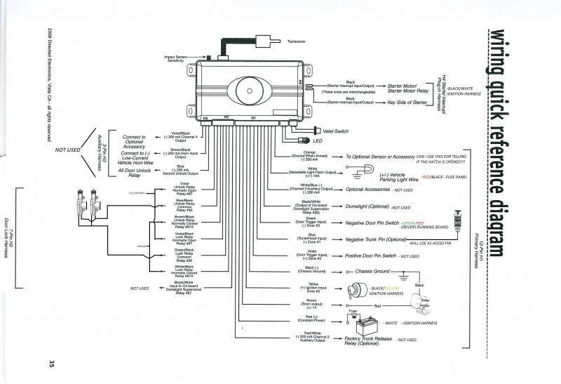 Viper 3305 Wire Diagram Viper 3305v Wiring Diagram Of Viper 3305 Wire Diagram