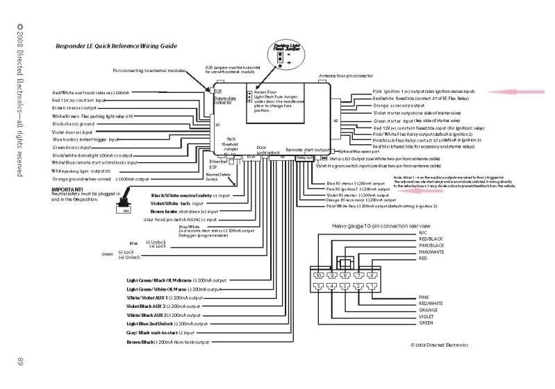 Viper 3305 Wire Diagram Viper 5902 Wiring Diagram Wiring Diagram and Schematic Diagram Of Viper 3305 Wire Diagram