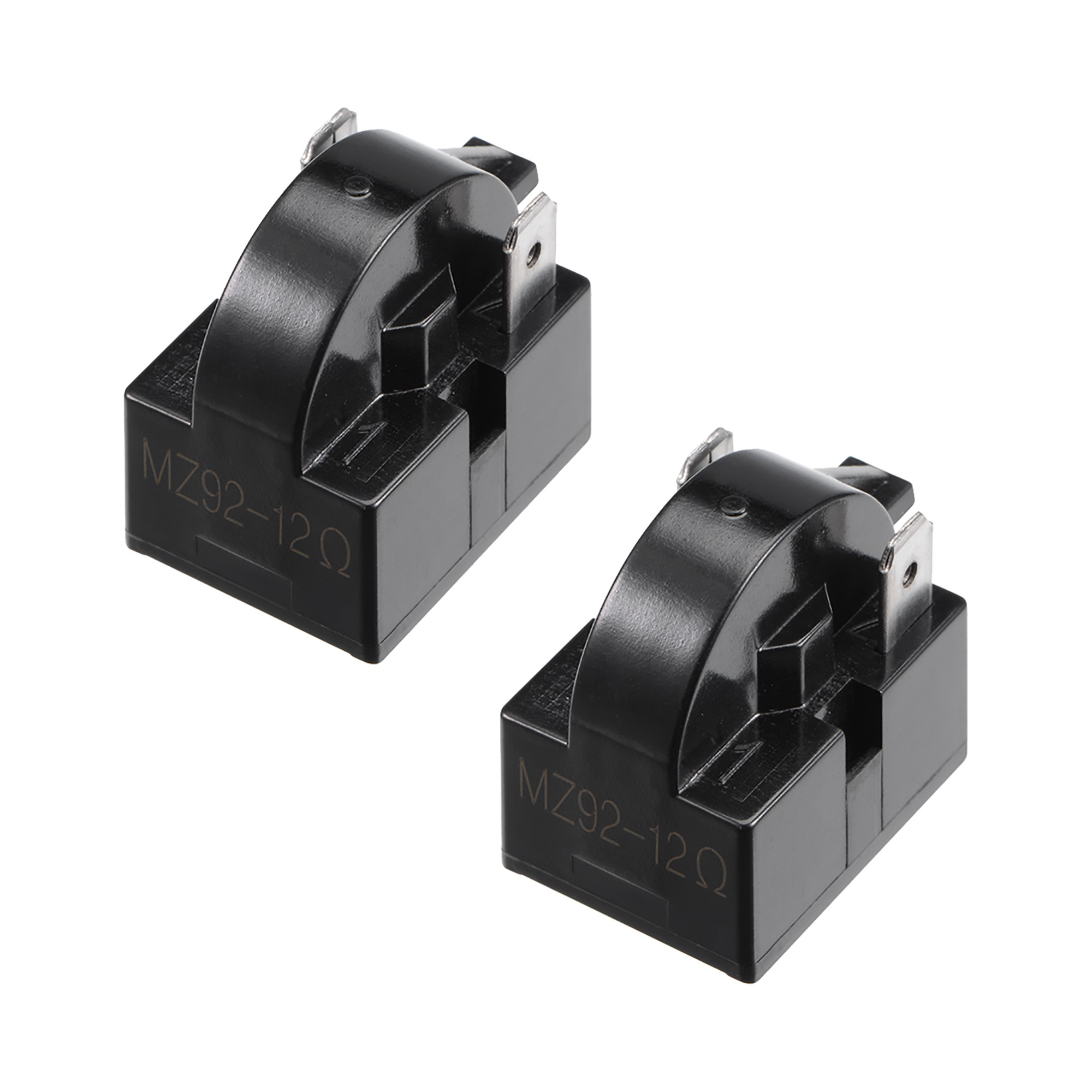 What is A 2 Pin Relay Used for 2pcs 12 Ohm 2 Pin Refrigerator Ptc Starter Relay Replacement Part Black Walmart Walmart Of What is A 2 Pin Relay Used for
