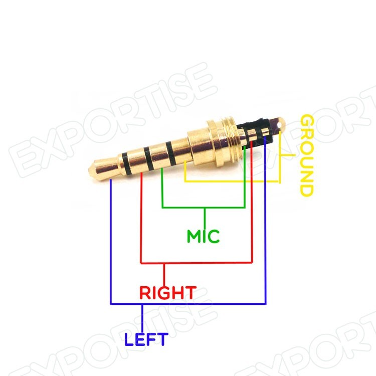 Wiring 4 Pole Headphones Headphones Volume Controls Do Not Work after 4 Pole Jack Repair Electrical Engineering Stack Of Wiring 4 Pole Headphones