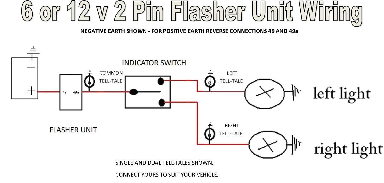 Wiring Circuit for A Two Pin 12volt Flasher Unit Wiring Diagram 3 Pin Flasher Relay Of Wiring Circuit for A Two Pin 12volt Flasher Unit