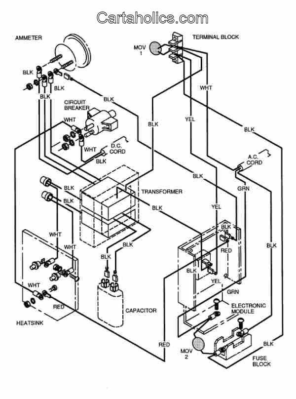 Wiring Diagram 1989 for Ezgo Gxt-800 Electric Ezgo Golf Cart 1989 Marathon Wiring Diagram Pdf Of Wiring Diagram 1989 for Ezgo Gxt-800